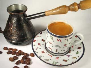 Как варить кофе на молоке в турке?