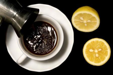 кофе лимон