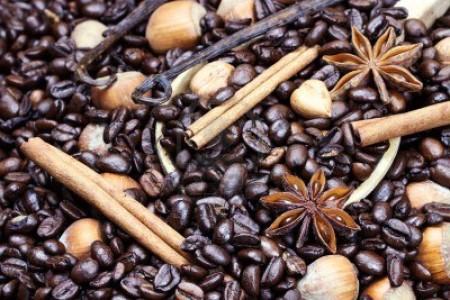 Кофе с ванилью и корицей