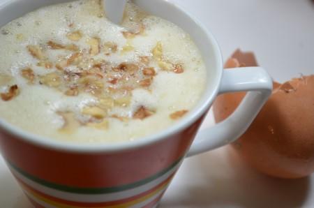Кофе с яичным желтком