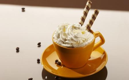 Кофе с миндалем