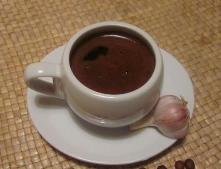 Кофе с чесноком