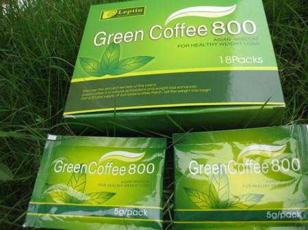 Зеленый кофе для похудения Лептин