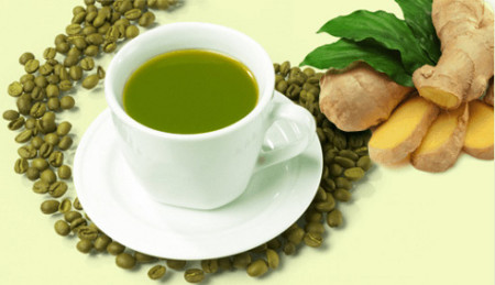 green-coffe-with-ginger