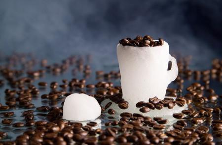 Лед из кофе для лица