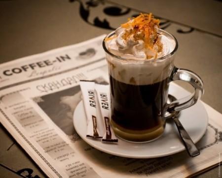 Виды кофе в кафе