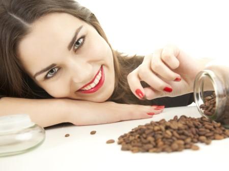 Маска для волос - коньяк и кофе